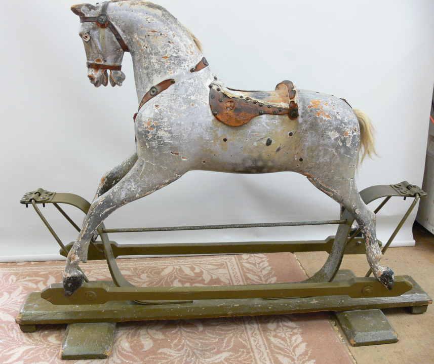 Unrestored Ayres Rocking Horse