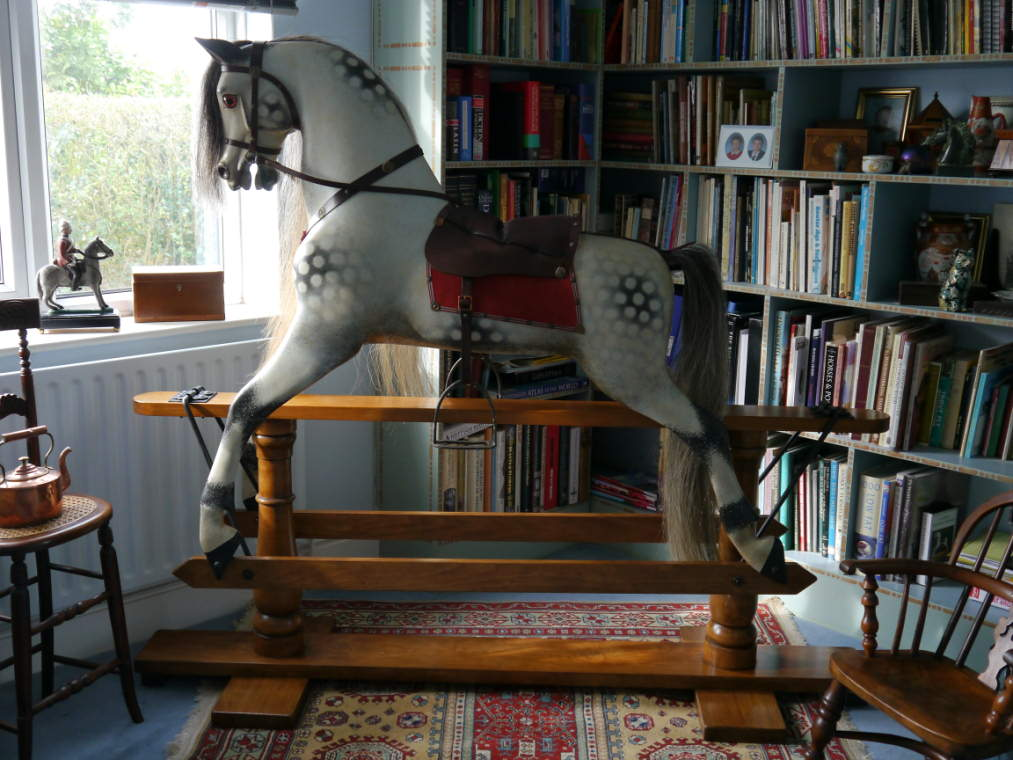 58 inch Ayres Rocking Horse Restored