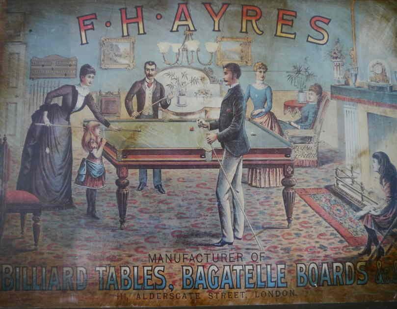 F H Ayres Advert