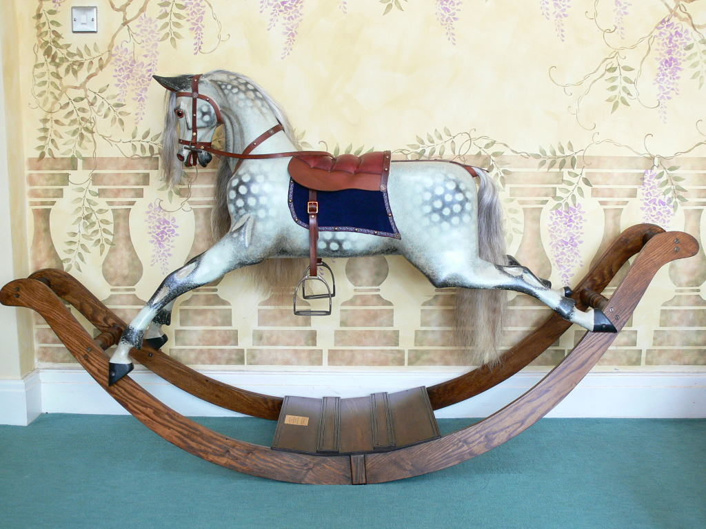 Lines Extra Carved Bow Rocker Restored