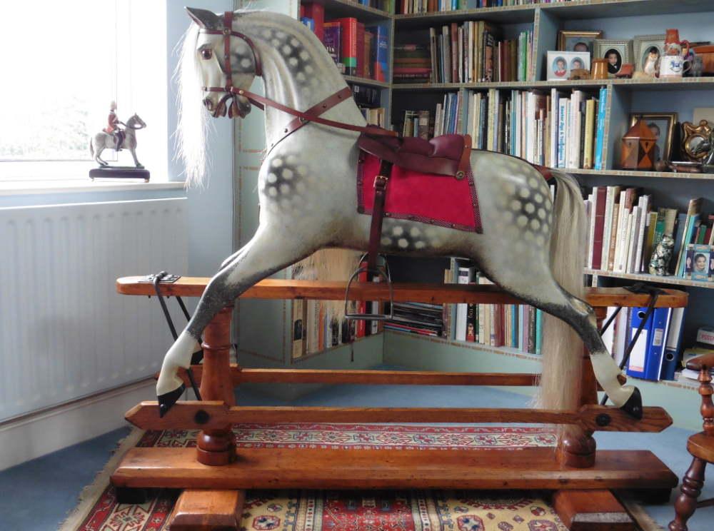 Ayres antique rocking horse
