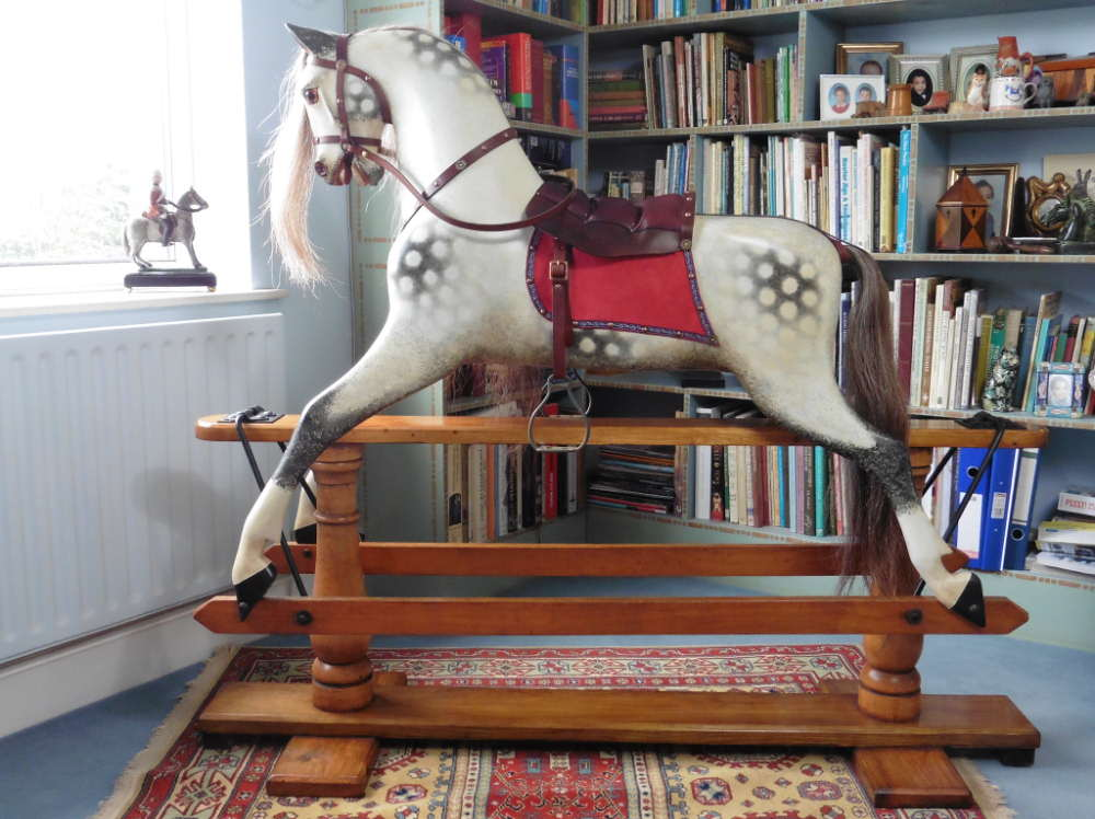 Antique Rocking Horse by Ayres