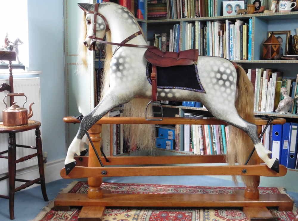 Antique rocking horse from Lines